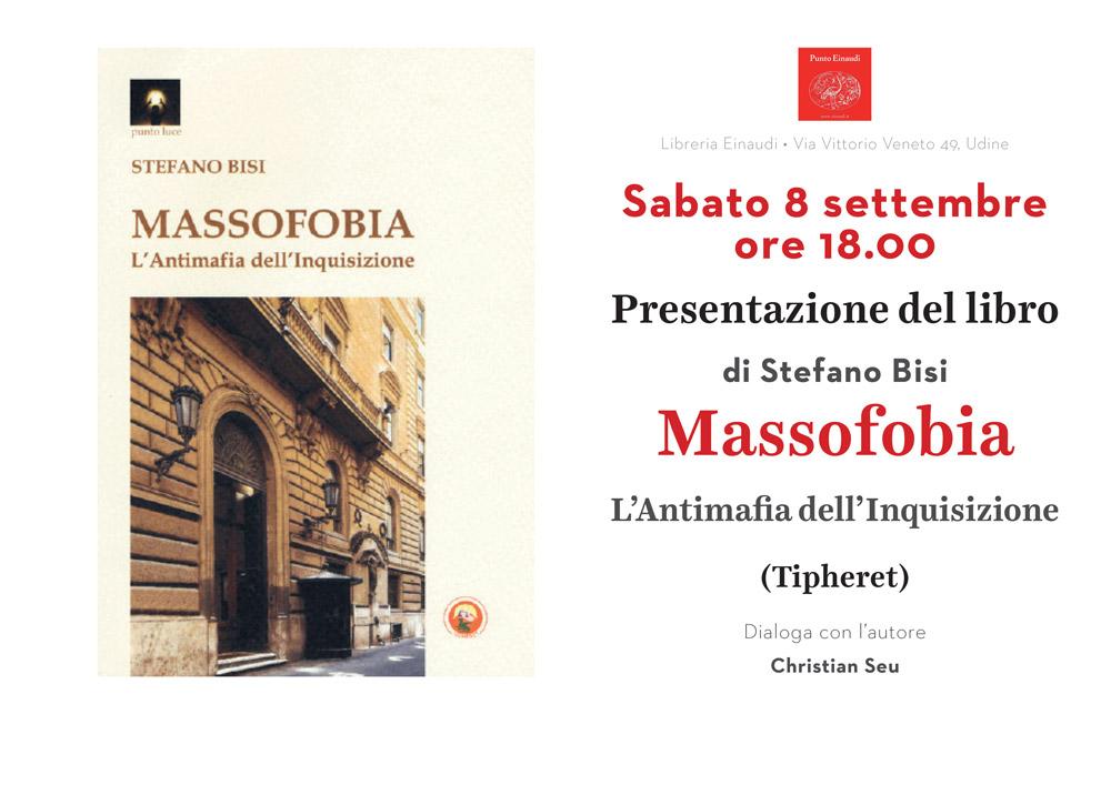 Invito Presentazione Massofobia Udine